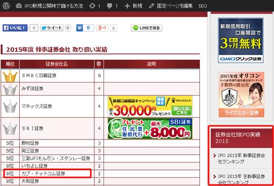 カブドットコム証券 1,500円分のポイントは破格!!