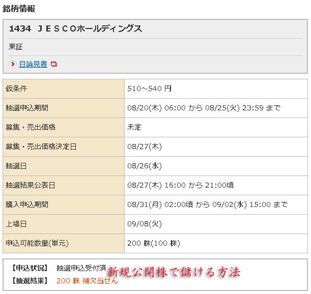 野村証券JESCO