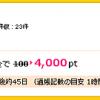 証券会社の口座を開設するだけで4,000円のキャッシュバック?!