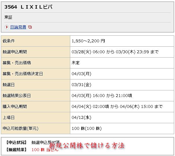LIXIL_当選