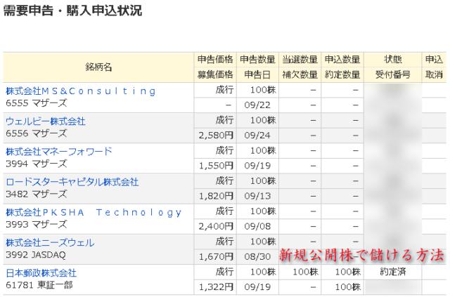 ゆうちょ銀行PC申込